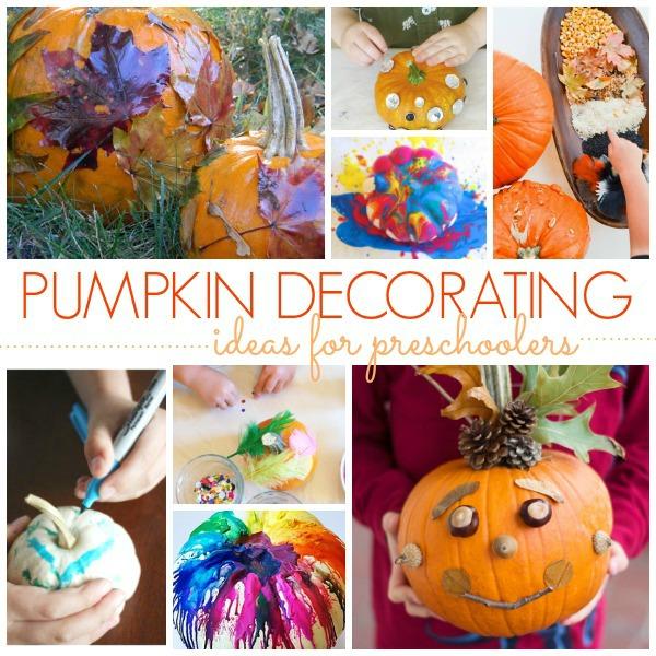 Our Favorite Pinterest Profiles For Decorating Ideas: No Carve Pumpkin Decorating Ideas
