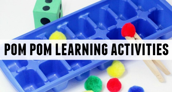 Pom Pom Learning Activities