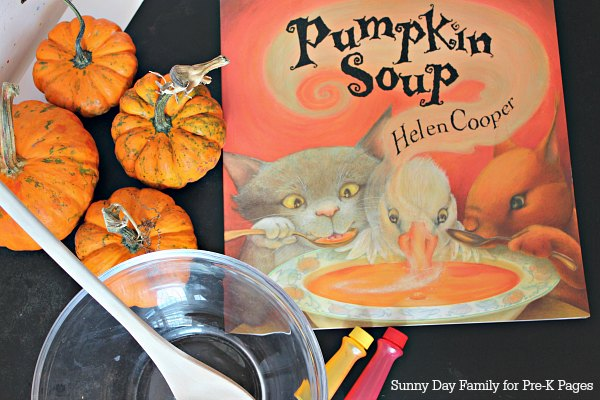 Color Mixing Activity Inspired By Pumpkin Soup Pre K Pages