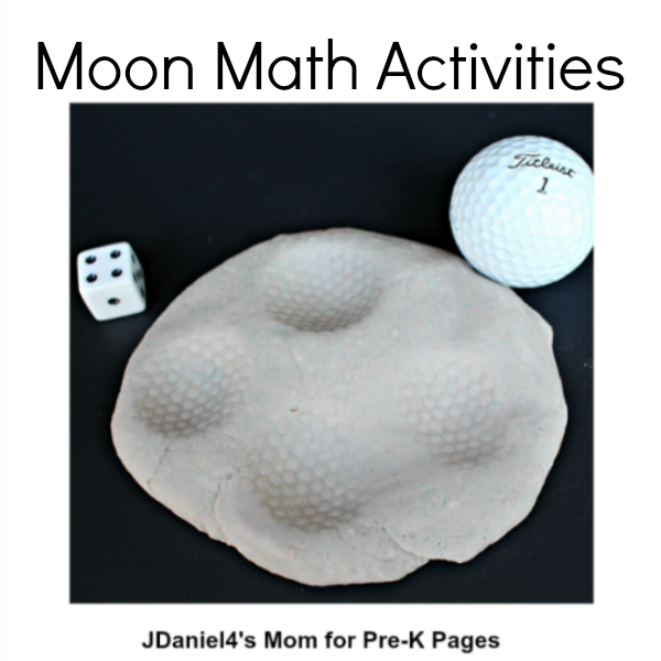space moon counting activity
