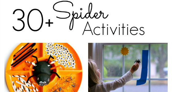 spider activities for preschoolers