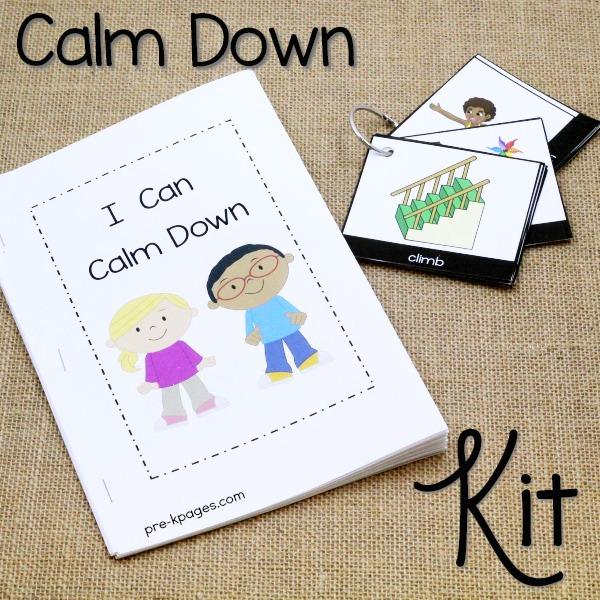 Calming Techniques Printable Toolkit for Preschool Teachers