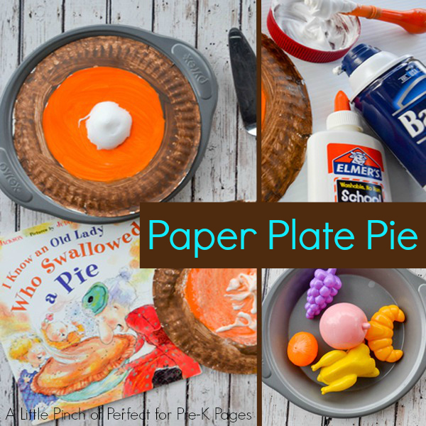 thanksgiving food craft ideas i an who swallowed a pie activity pre 5566
