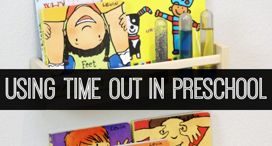 Using Time Out in Preschool