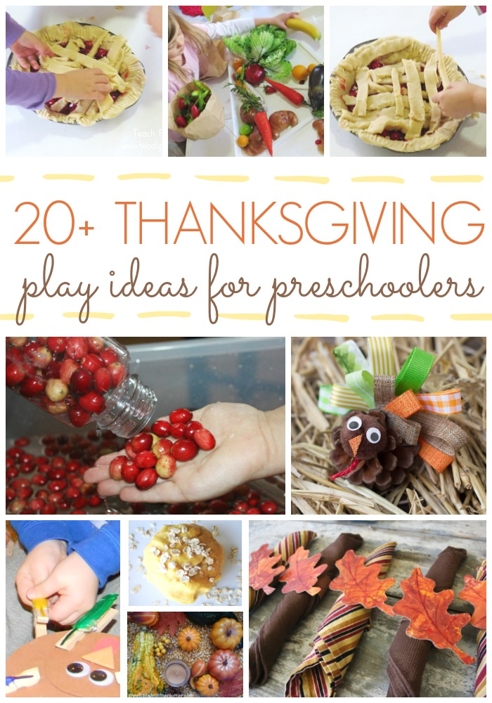 Thanksgiving ideas for preschoolers pre k pages