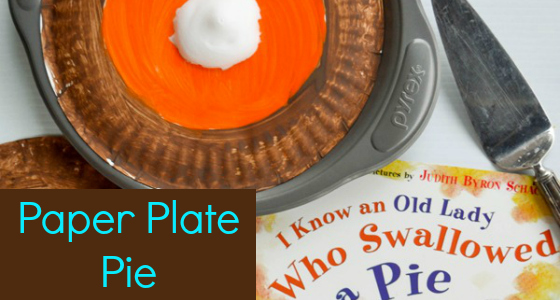 I Know an Old Lady Who Swallowed A Pie: Art Activity