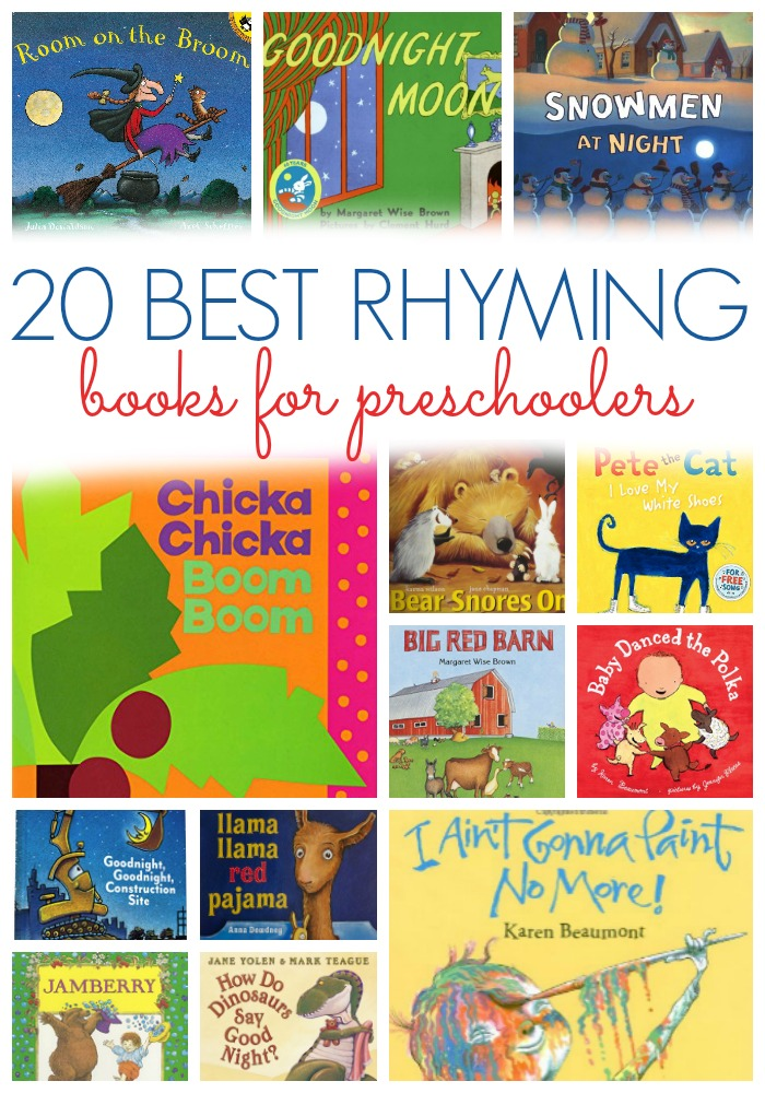 what are the best books for preschoolers best rhyming books for preschoolers pre k pages 634