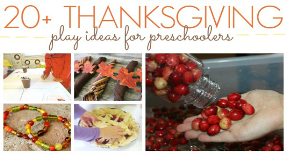 thanksgiving ideas preschool