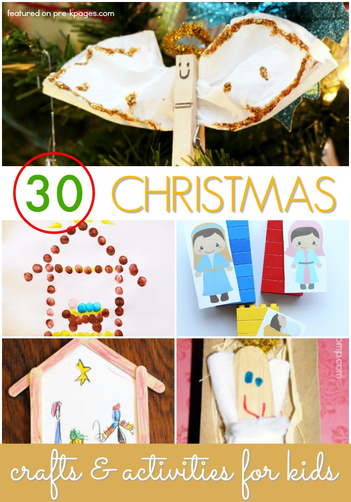 Christmas Crafts And Activities For Preschoolers Pre K Pages
