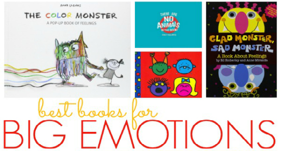 Books About Emotions for Preschool - Pre-K Pages