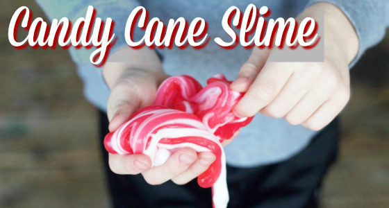 candy cane slime