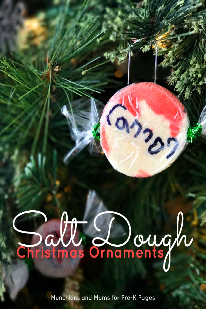 salt dough ornaments for preschool