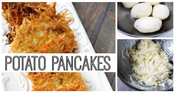 Classroom Recipe: Potato Pancakes