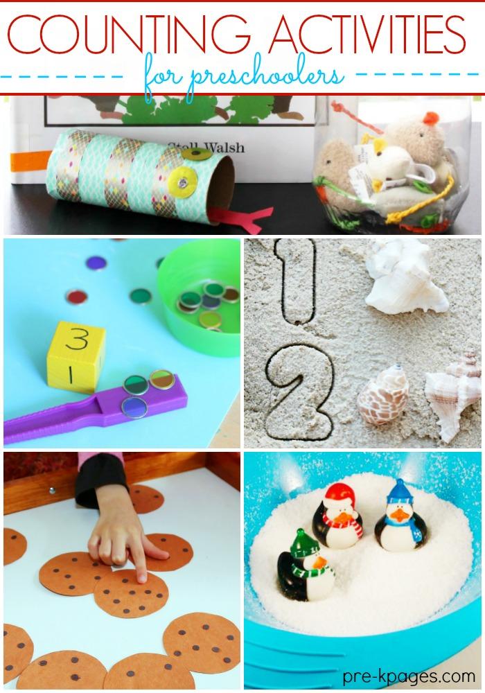 Counting Activities for Preschool