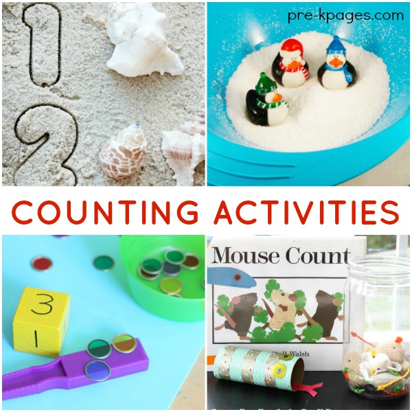 Counting Games and Activities for Preschoolers - Pre-K Pages
