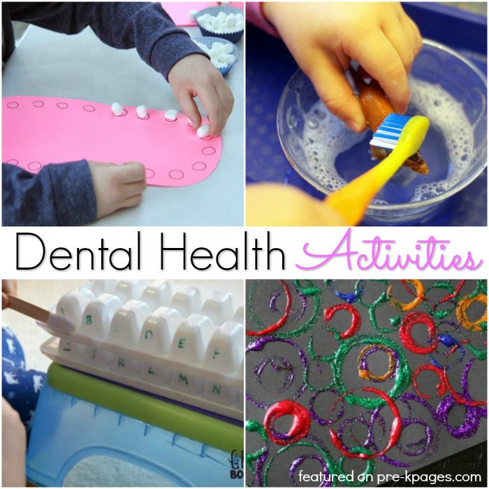 Dental Care Crafts For Preschoolers