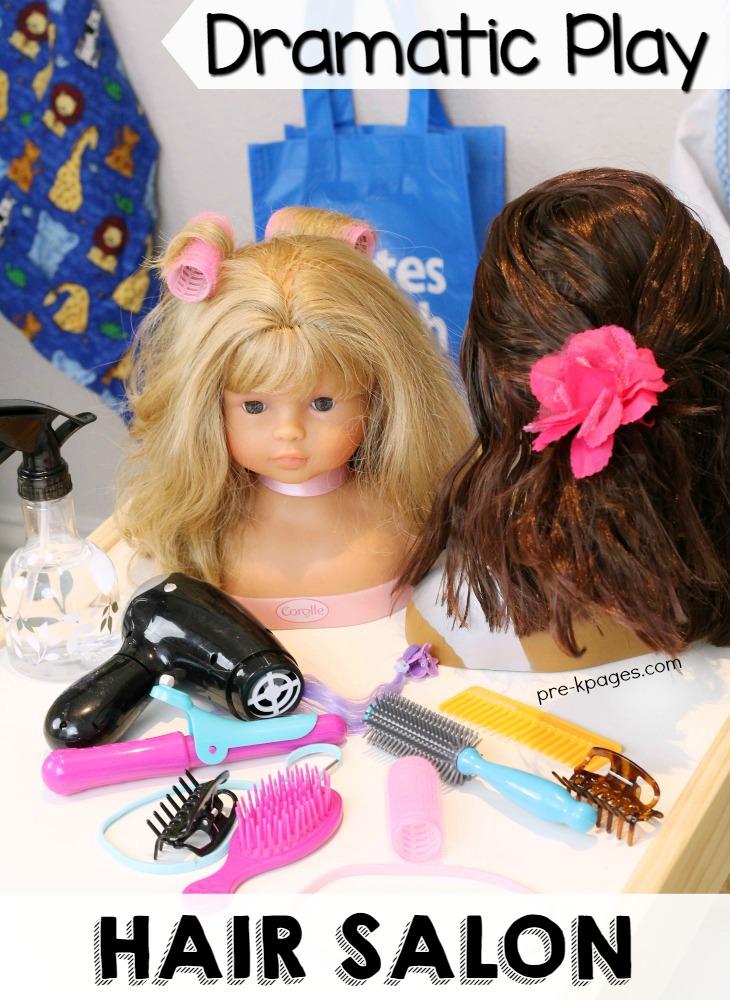 Hair Salon Dramatic Play Theme