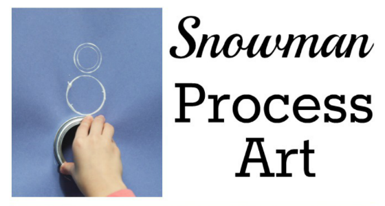 snowman art circle painting