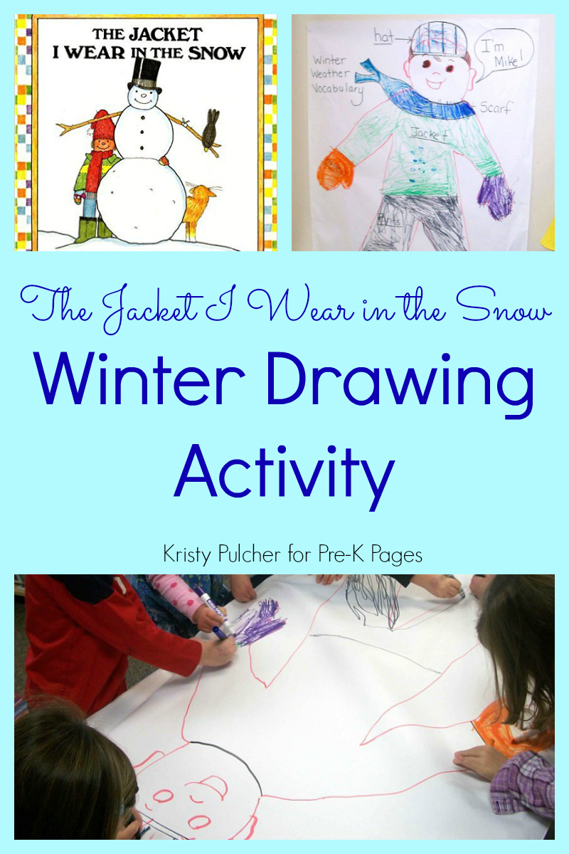 The Jacket I Wear in the Snow: Winter Drawing Activity ...