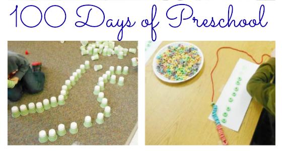 Celebrating 100 Days of Preschool