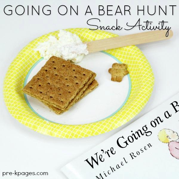 Bear Hunt Inspired Cave Snack for Preschool