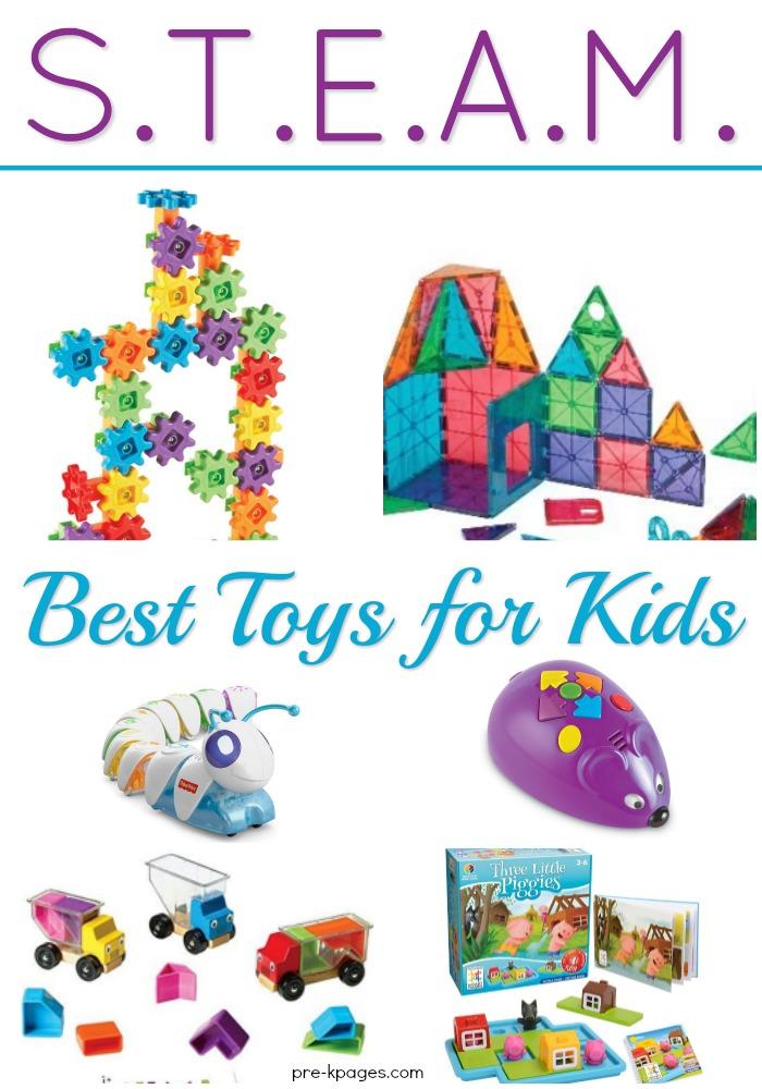 Best STEAM Toys for Kids