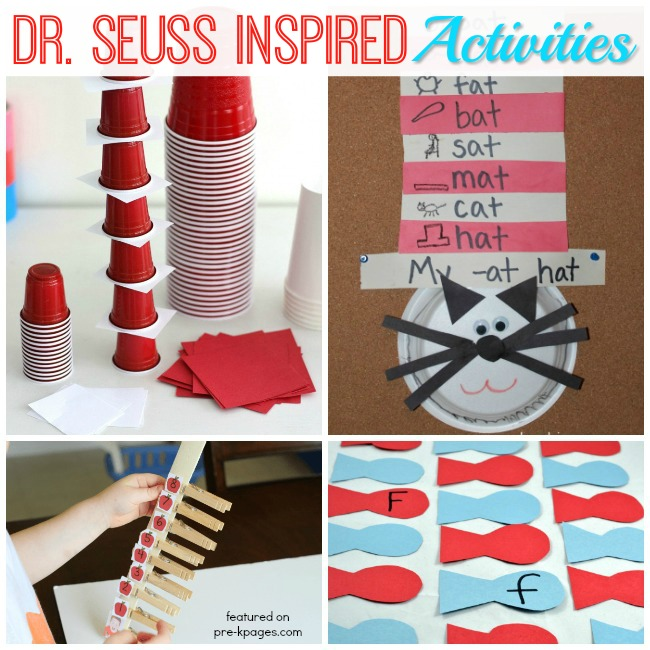 Dr Seuss Birthday Celebration Week Ideas for Preschool