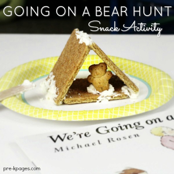 Going on a Bear Hunt Cave Snack for Preschool