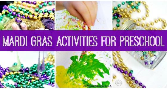 Mardi Gras Activities for Preschool