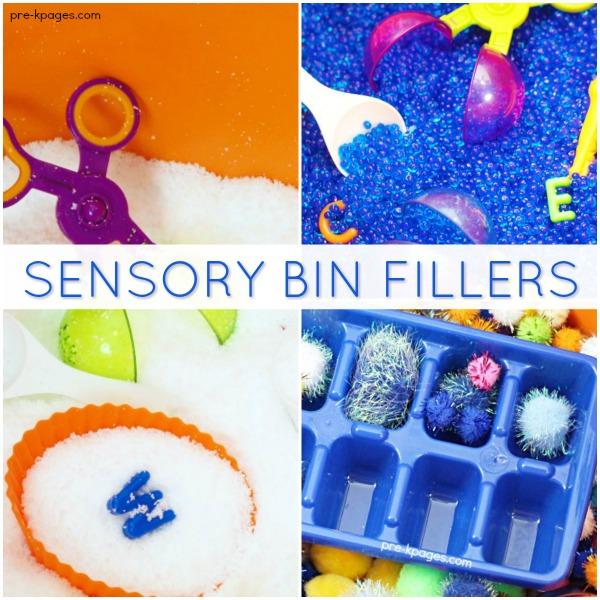 Sensory Bin Fillers For Sensory Play In Preschool Pre K
