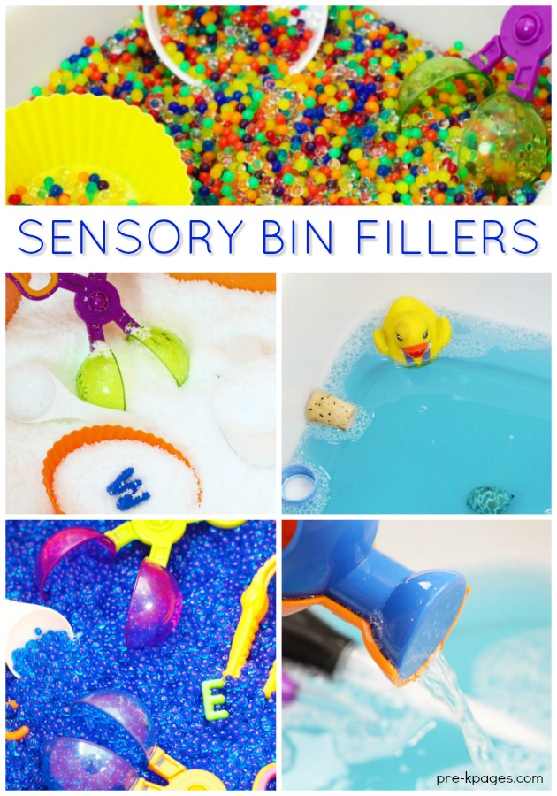 What to Put Inside a Sensory Bin