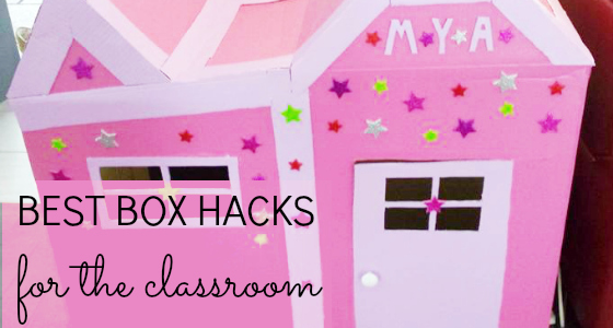 Cardboard Box Hacks for the Classroom
