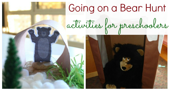 going on a bear hunt activities