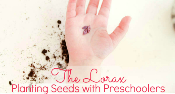 The Lorax: Planting Seeds with Preschoolers