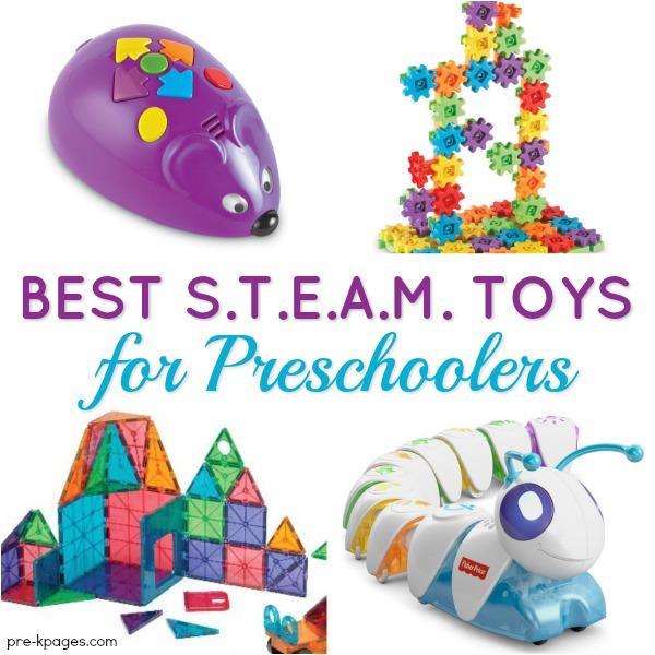 Best STEAM Toys for Preschool