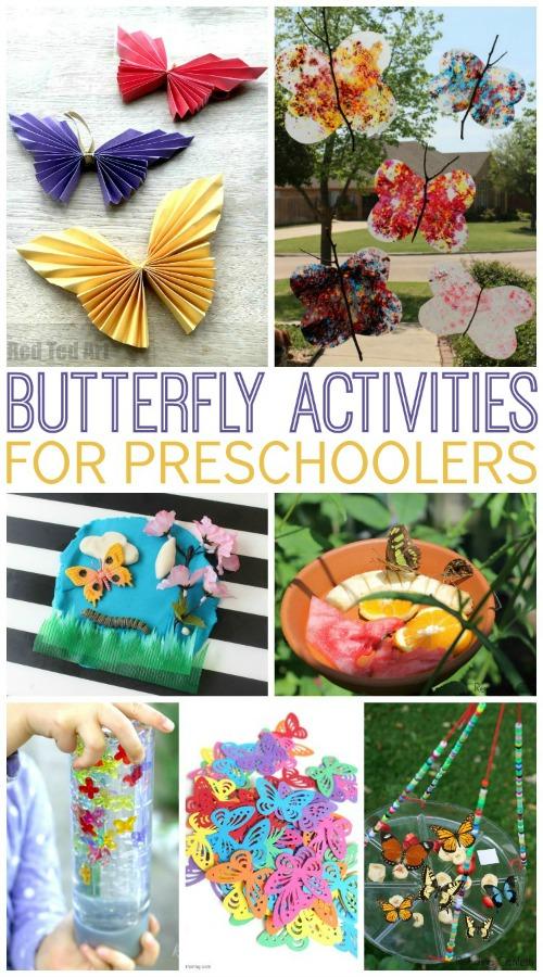 Butterflies Theme Activities for Preschool