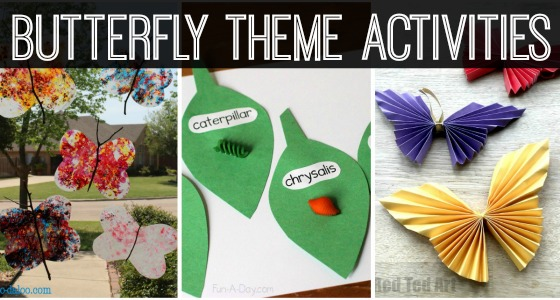 Butterfly Theme Activities