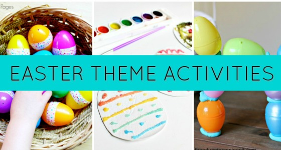 Easter Egg Activities for Preschool Kids