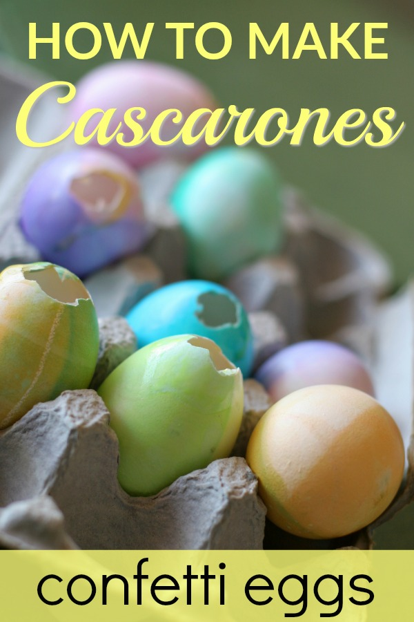 How to Make Confetti Eggs for Easter