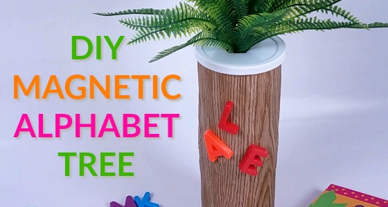 Magnetic Alphabet Tree for Preschool