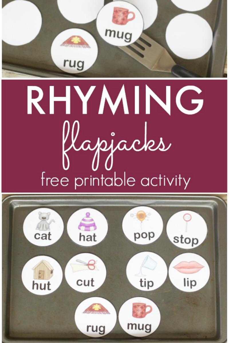 Rhyming Flapjacks pre-K