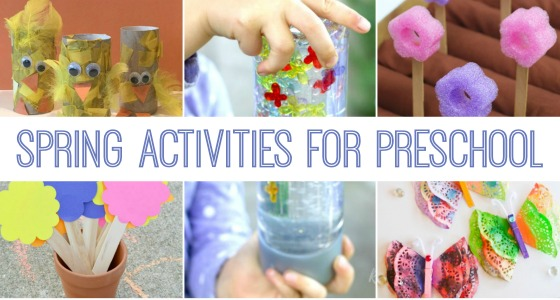 Spring Ideas for Preschool Kids