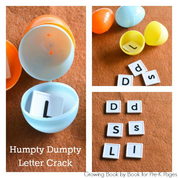 humpty dumpty letter crack pre-k