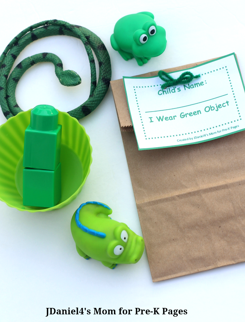 explore green objects