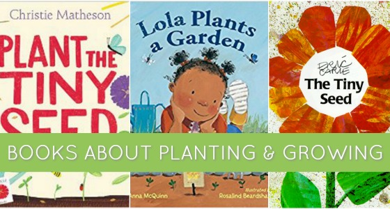 Books About Seeds and Plant Life Cycles