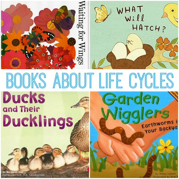 Life Cycle Books for Preschoolers