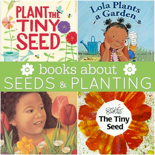 Preschool Books About Seeds Planting