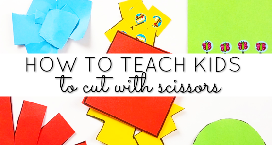 How to Teach Scissor Cutting Skills