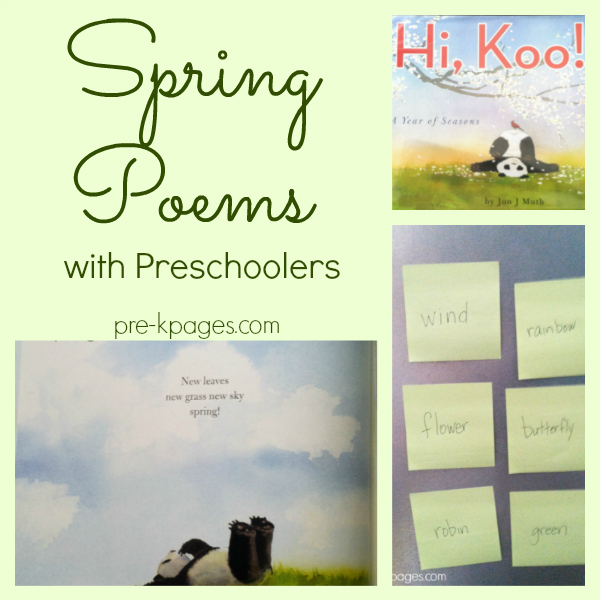spring poems hi koo