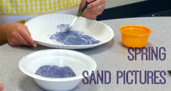 Spring Sand Pictures